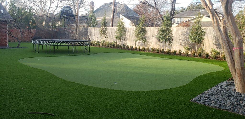 Artificial Grass Putting Green Golf Dallas