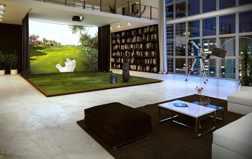 artificial grass landscape design interior