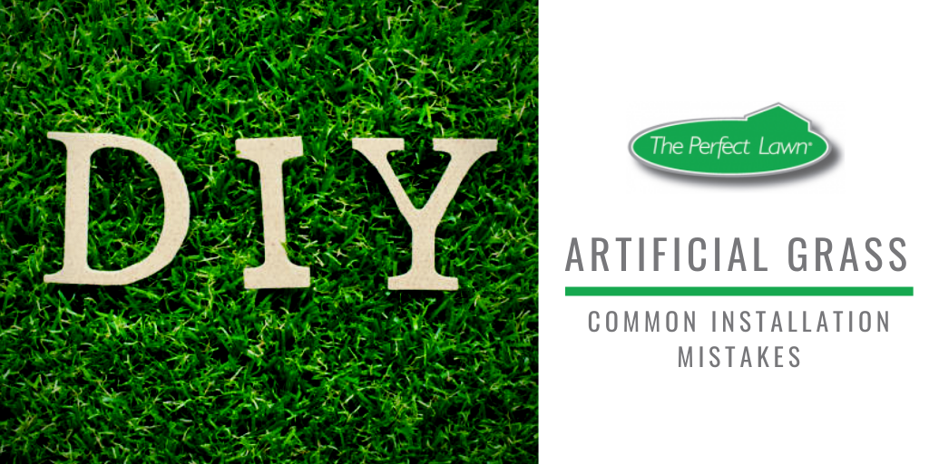 DIY Artificial Grass Installation Mistakes