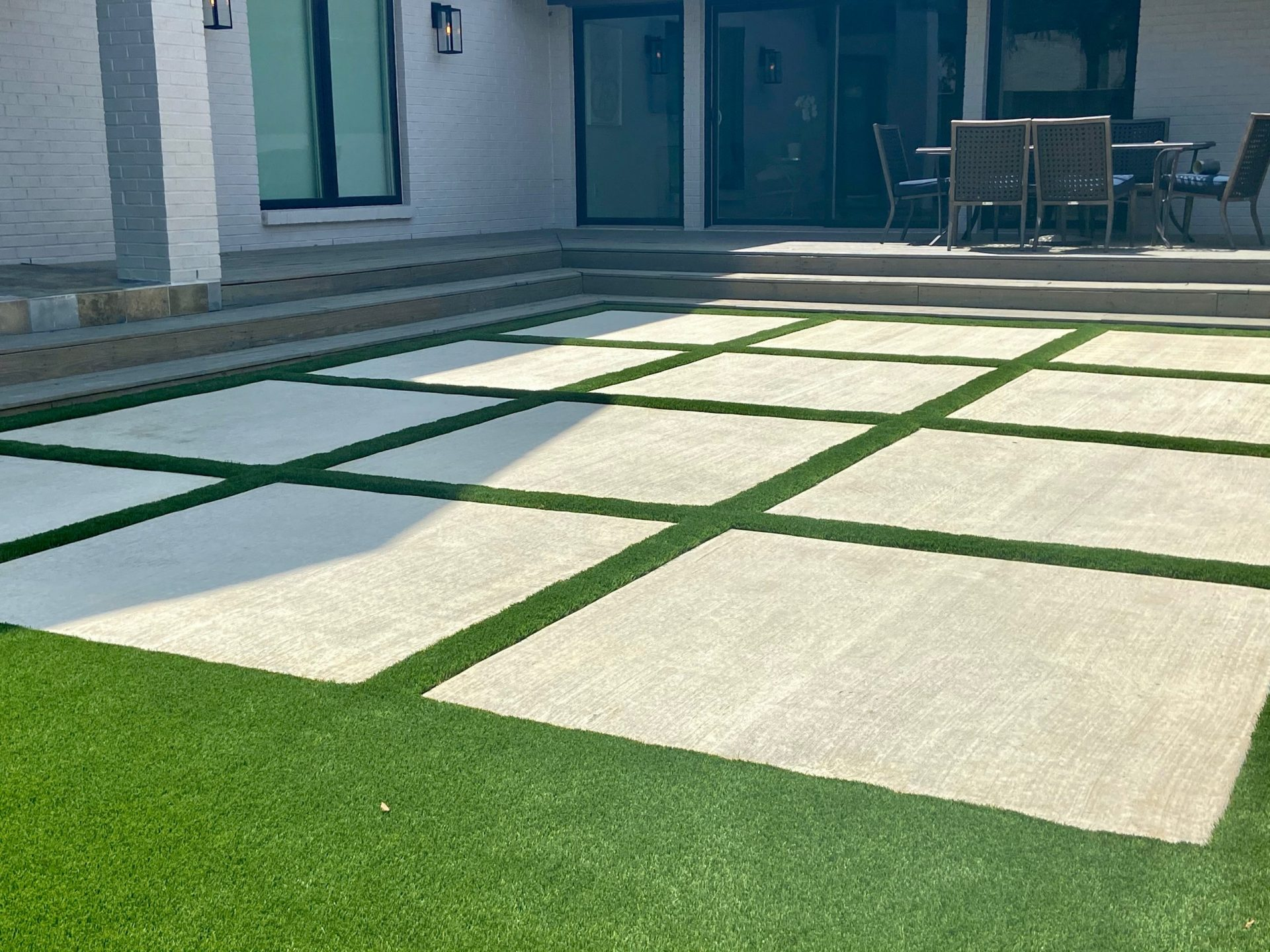 Indoor Artificial Grass Installation | The Perfect Lawn