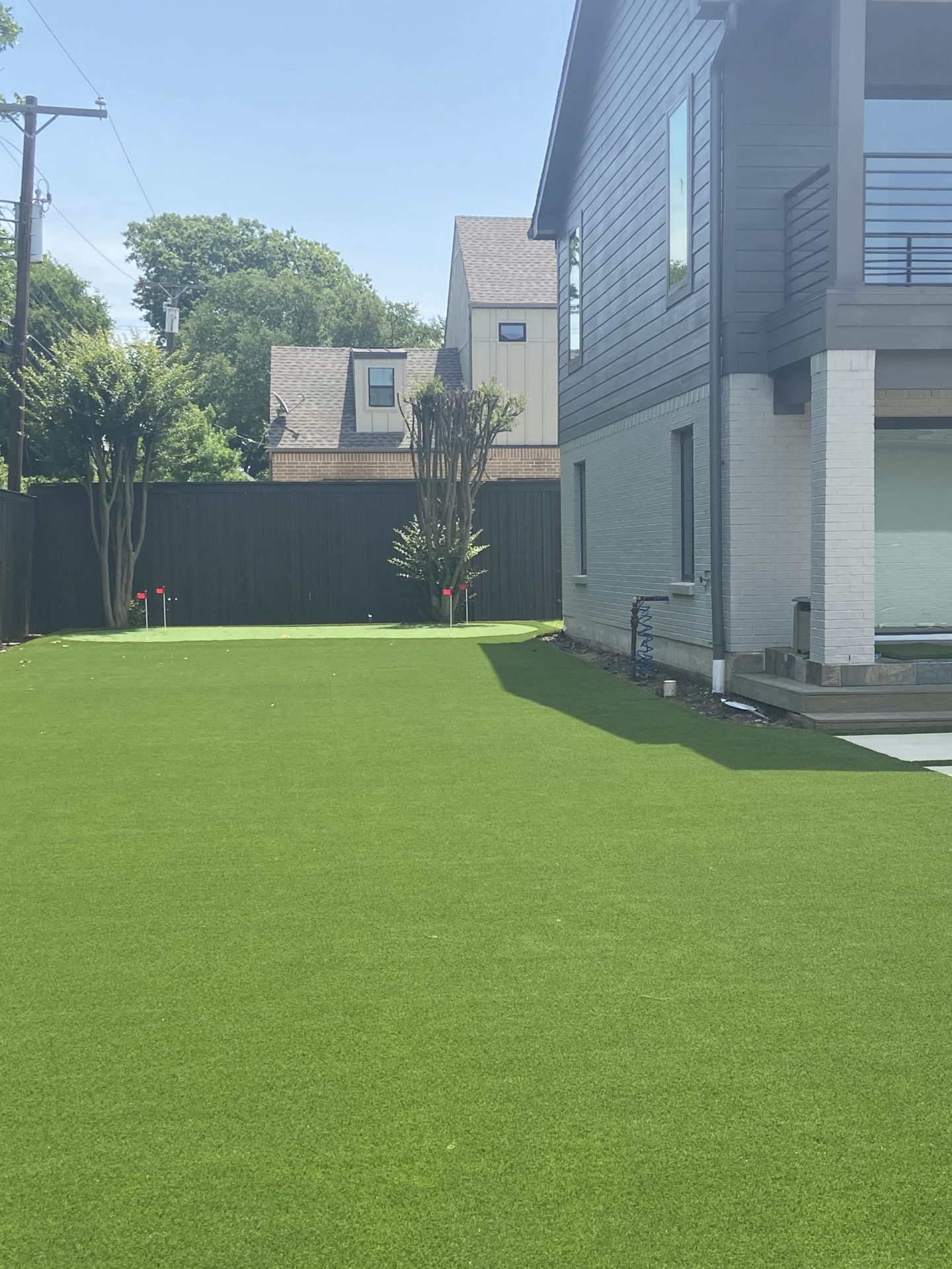Fake Grass installed by The Perfect Lawn