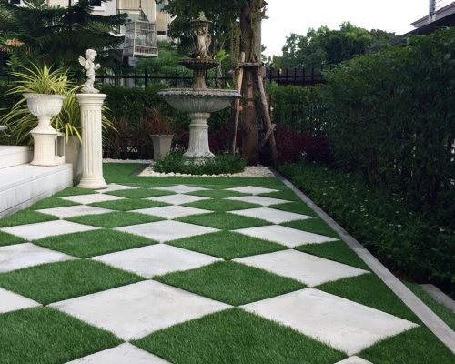 Create your dream yard with top quality artificial grass installation.